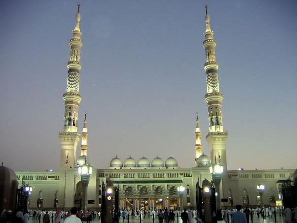 Al-Masjid an-Nabawi at Saudi Arabia