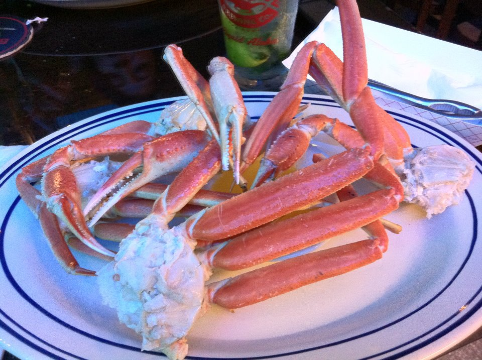 Eat snow crab at Catch of the Day