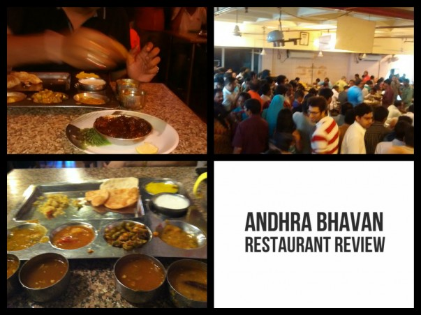 Review of Andhra Bhavan restaurant in Delhi