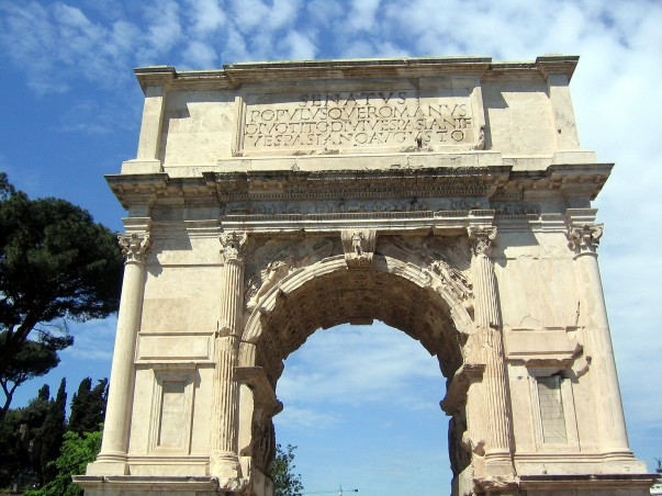 Arch of Titus Facts