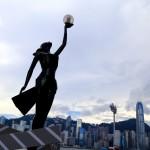 Replica of Hong Kong Film Awards Statuette