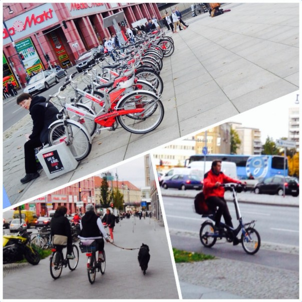 Berlin possède son propre système de location publique de vélos – Call a Bike.