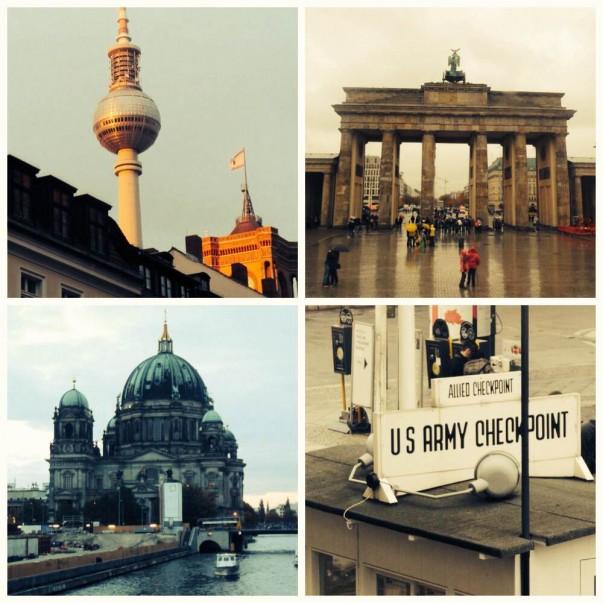 Main sights of Berlin