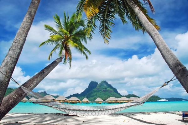 Relax at the Bora Bora Island