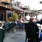 Seating at The Crow's Nest at Santa Cruz