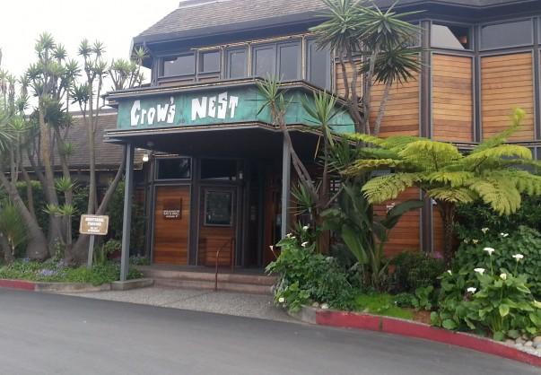 Entrance of The Crow's Nest at Santa Cruz