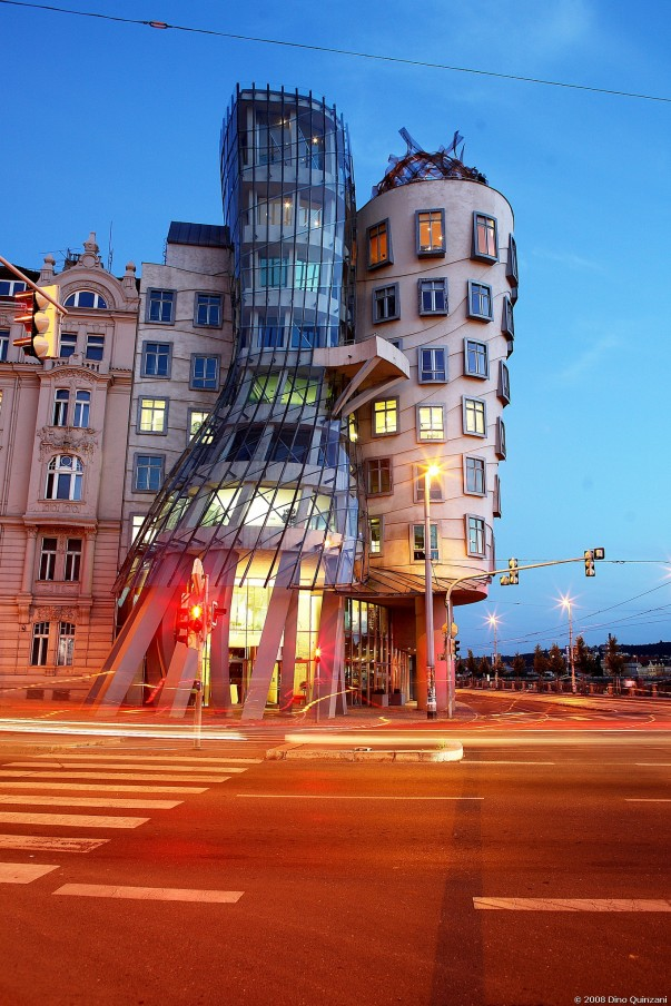 Dancing House in Czech Republic