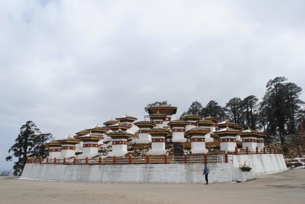 Dochula Pass in Thimpu
