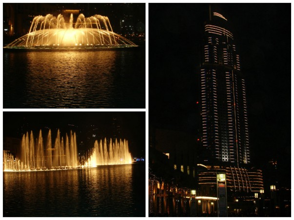 The Dubai Fountain – heady mix of lights, music, and water jets