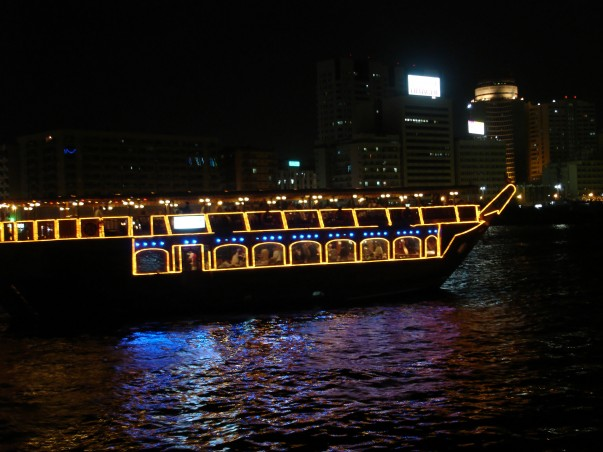 Dhow cruise with music, buffet dinner, and cool breeze… what else could you want?