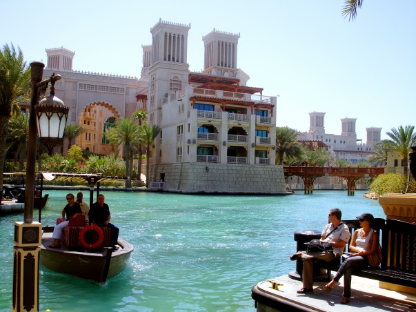 Outside view of Jumeirah Madinat