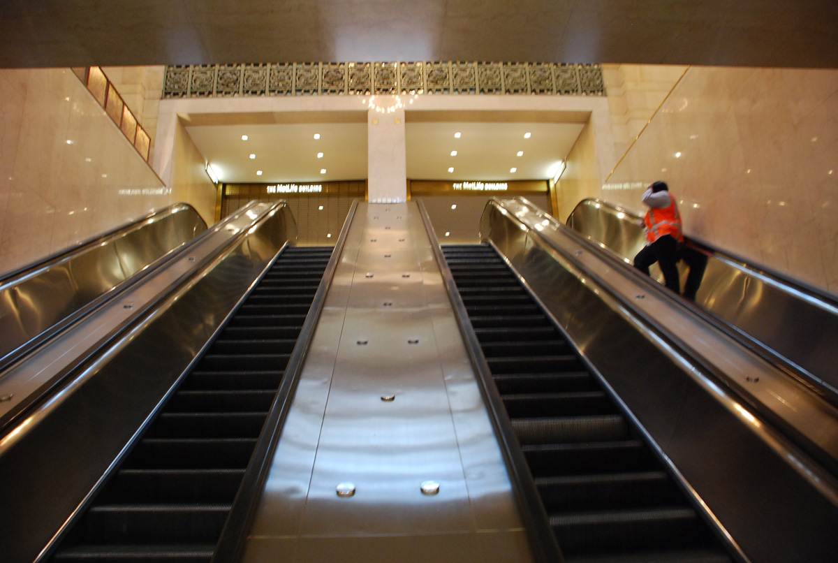 escalators-to-metlife-building