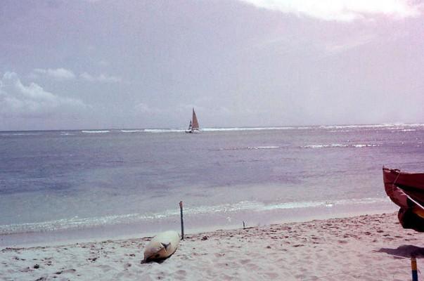 Fort DeRussy Beach in Waikiki, Honolulu