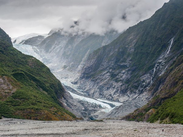 Franz Josef and Fox Glaciers