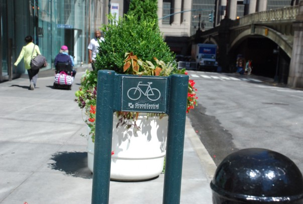 Bicycle Parking at Grand Central New York