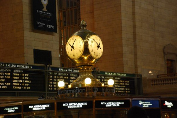 The Grand Central Clock