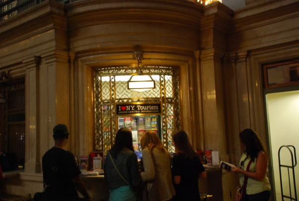 Grand Central Terminal Information Booth
