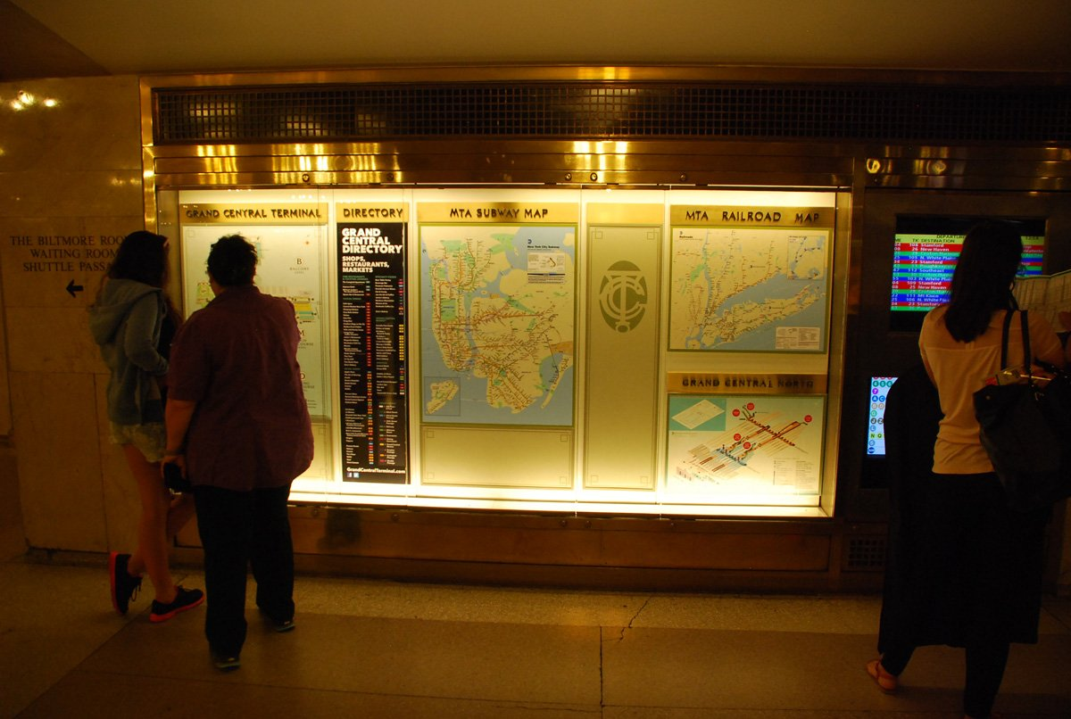 Maps of Grand Central Terminal