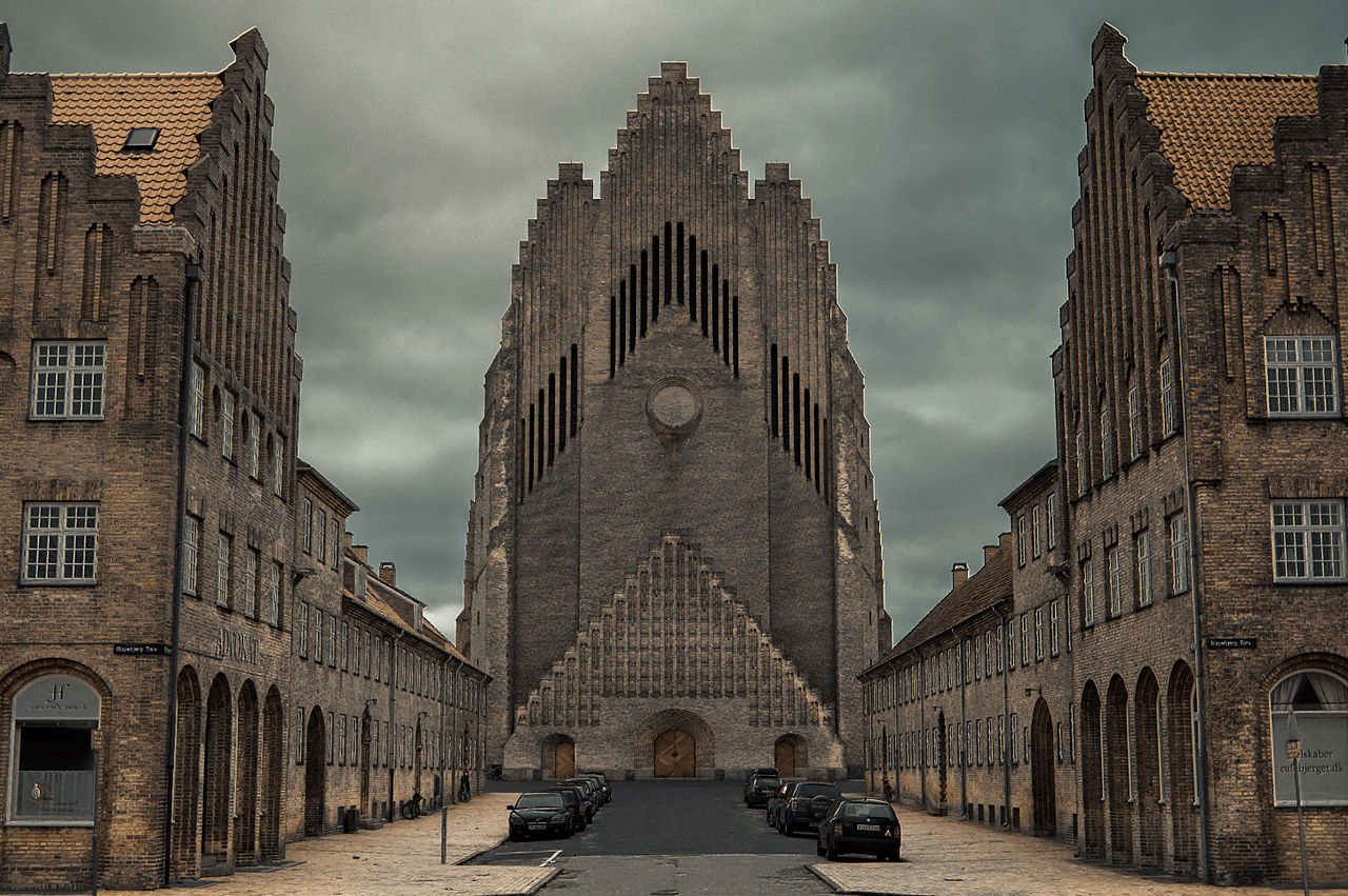 Grundvig Memorial Church in Copenhagen