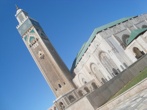 Hassan II Mosque at Casablanca, Morocco