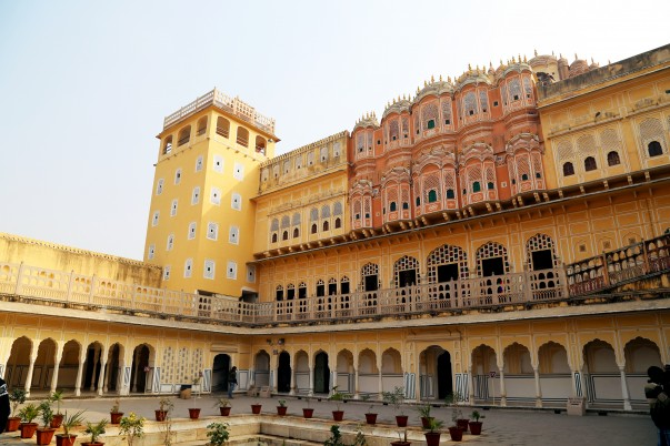 Hawa Mahal Courtyard