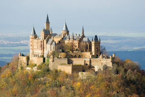 Hohenzollern Castle, castles around the world