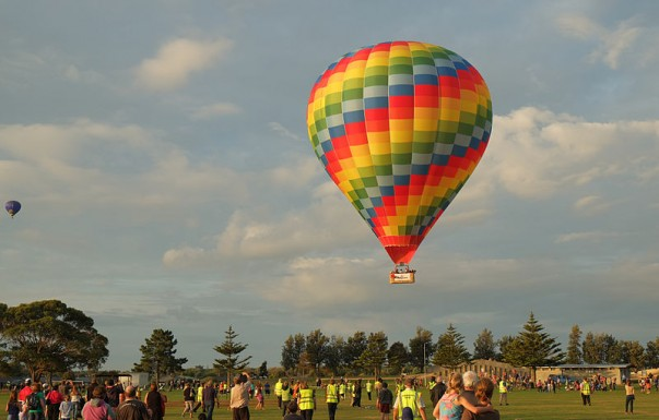 Hot Air Ballooning is a popular adventure sport in New Zealand