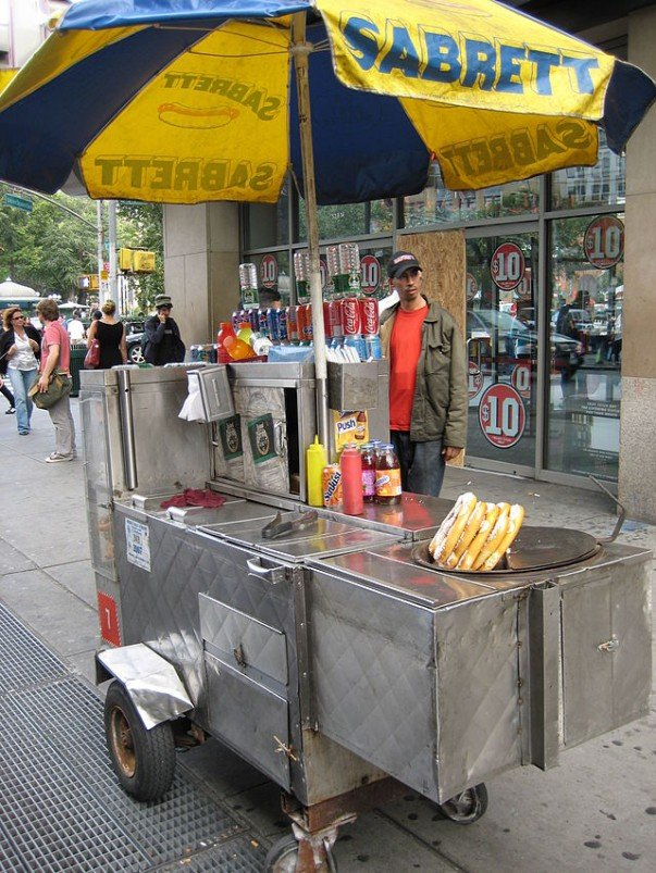 Hot Dog in New York