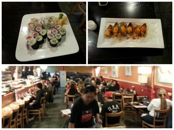 I Love Sushi, Santa Cruz - Food Options & Ambiance
