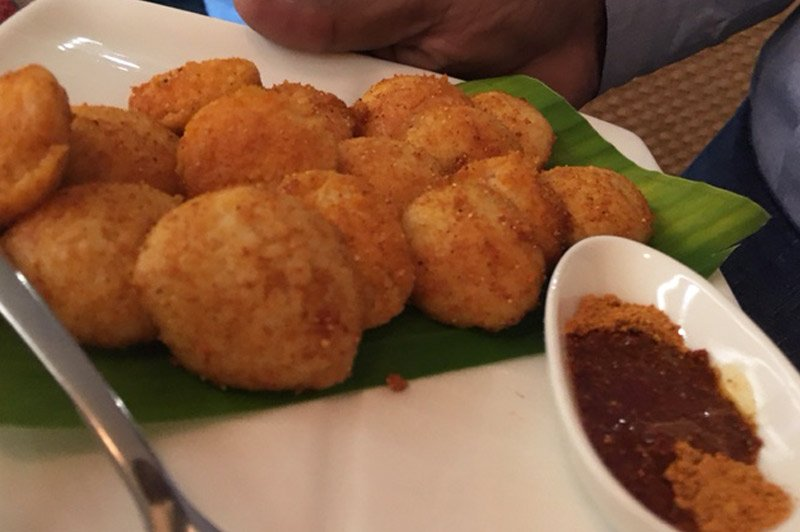 Tossed Mini Idli served at Peninsular Kitchen