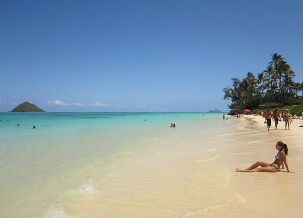 Kahala Beach at Waikiki