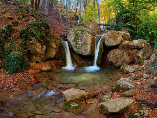 Khapkhal hydrological nature reserve in Ukraine