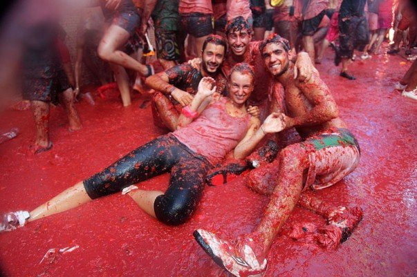 Have lots of Fun at La Tomatina