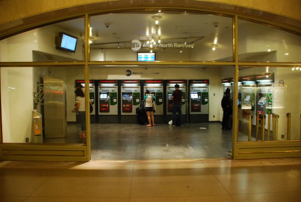 Ticket machines at Grand Central Terminal