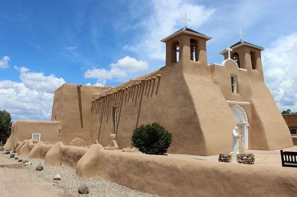 San Francisco de Asis Mission Church in Ranchos de Taos, New Mexico
