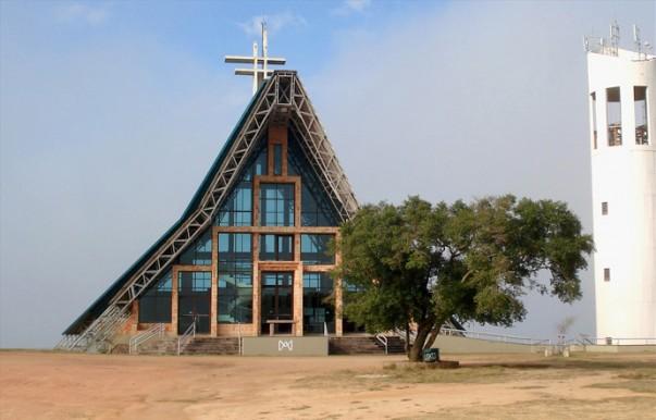 Santuário Mãe de Deus at Porto Alegre, Brasil.