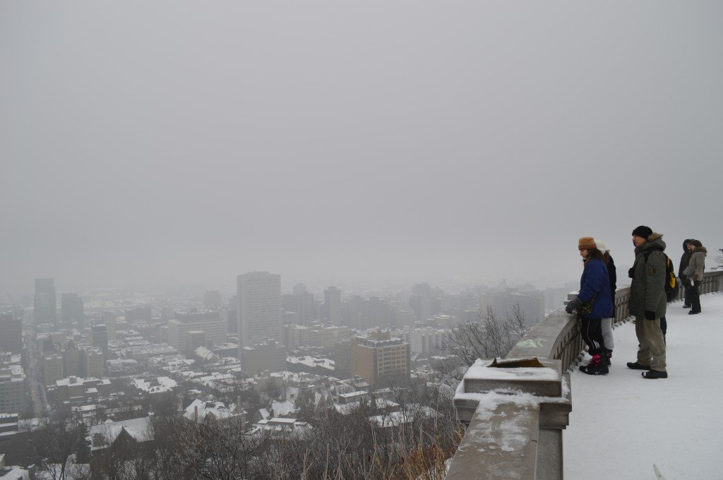 Mount Royal Park – The best place to view the Montreal skyline