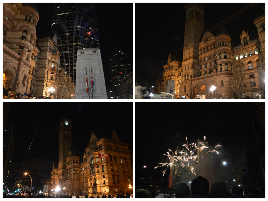 New Year at Nathan Phillips Square