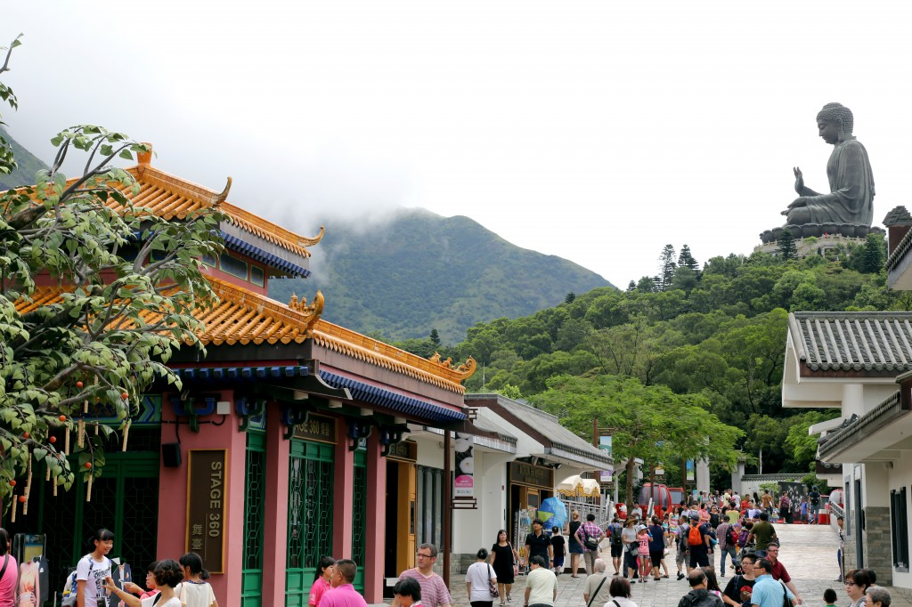 Hong Kong's Ngong Ping village Cultural and Spiritual walk
