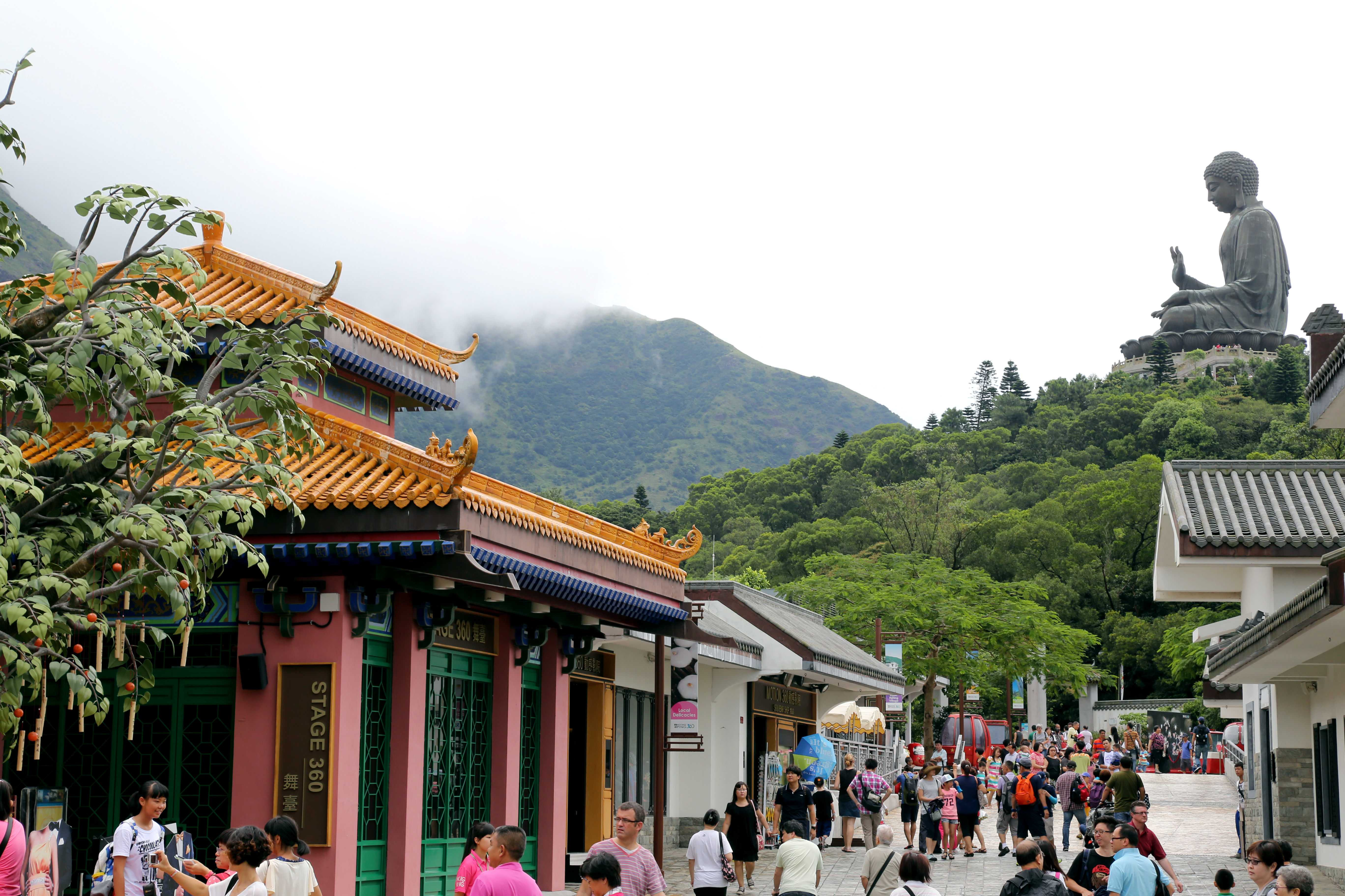 Hong Kong's Ngong Ping village Cultural and Spiritual walk