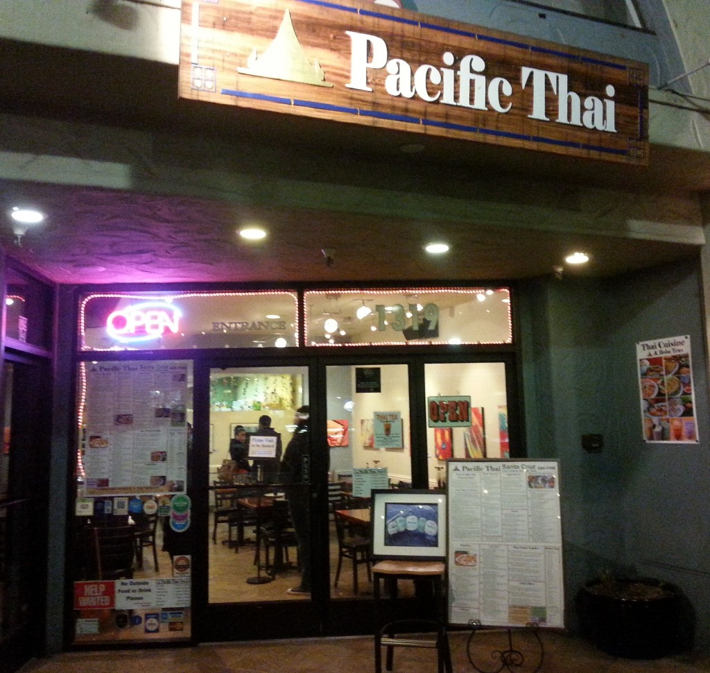 Pacific Thai, Santa Cruz - Restaurant Review
