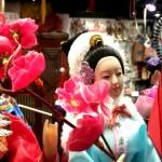Chinese Dolls at a Souvenier Shop at The Peak shopping Arcade