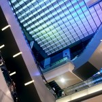 Inside the Sky Terrace shoopping Arcade