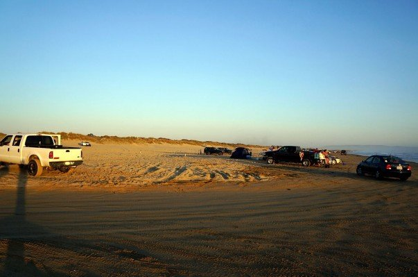 Ride along the sand dunes at the Pismo Beach