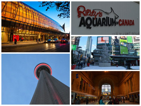 Places to visit in Downtown Toronto