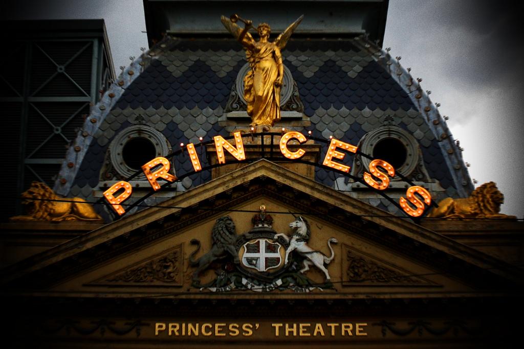 Princess Theatre in Melbourne