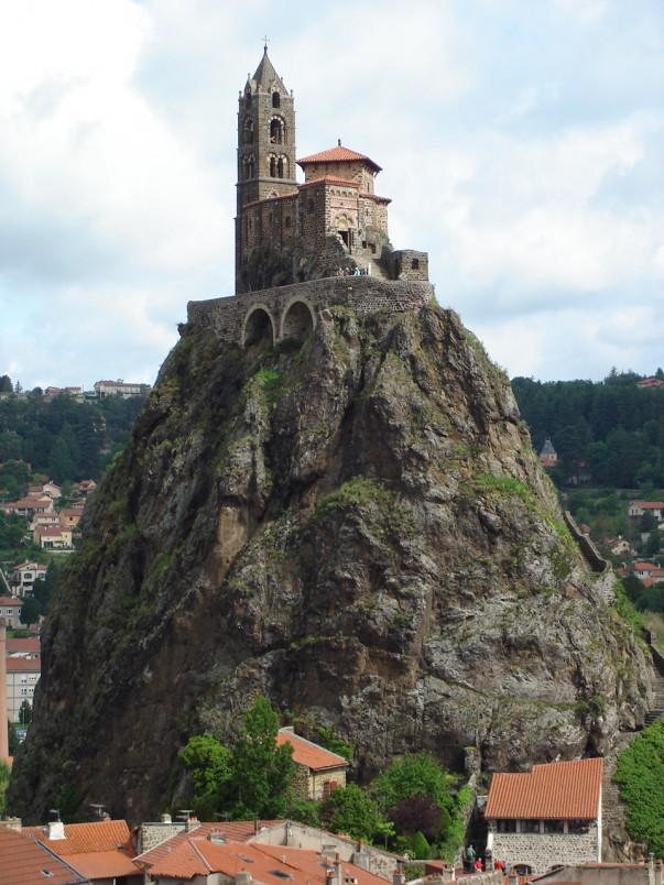 Saint Michel d'Aiguilhe en Auvergne