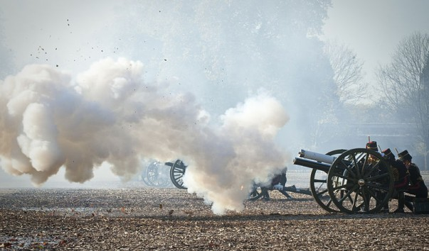 See a Royal Gun Salute for yourself