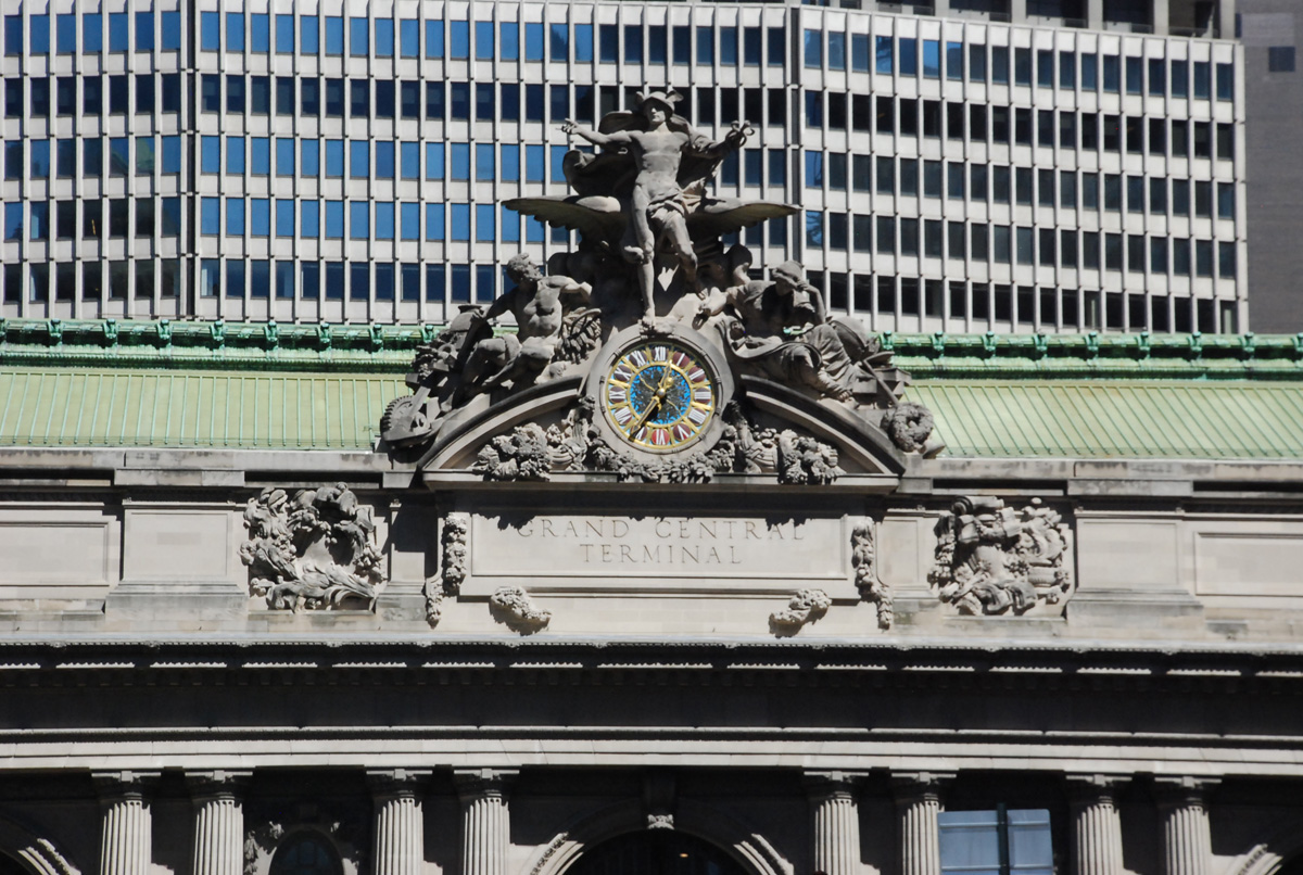 Main Sculpture at Grand Central Terminal