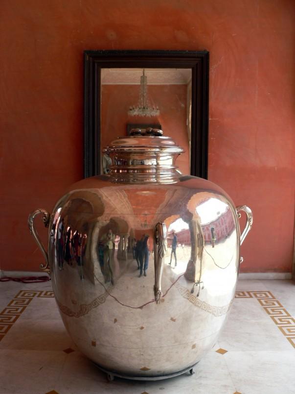 Silver Urn at Diwan-I-khas